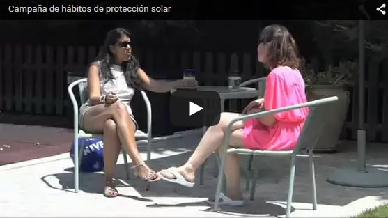 Campaña hábitos de protección solar