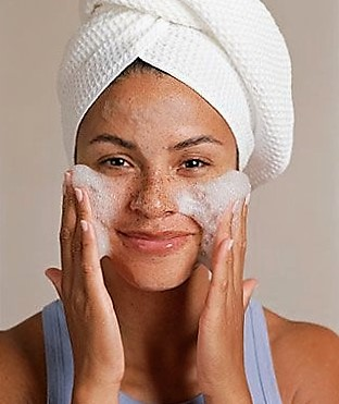 Mantener la piel limpia