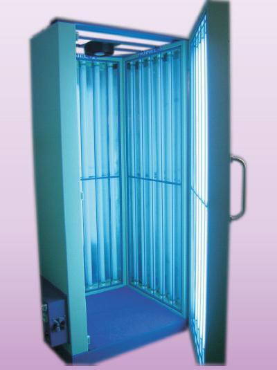 Cabina UVB para tratamiento psoriasis