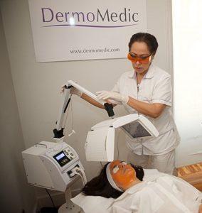 terapia biofotónica - clínica dermatológica madrid