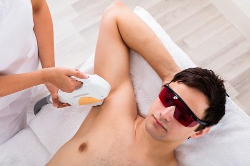 Depilación láser masculina en Dermomedic
