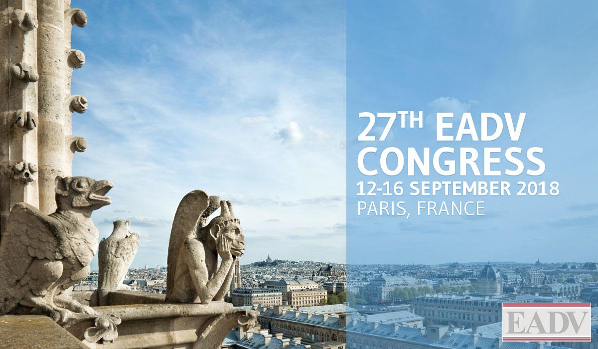 EADV 27º CONGRESS PARIS 2018