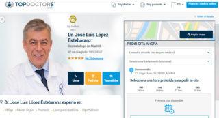 Dr. López Estebaranz para Top Doctors